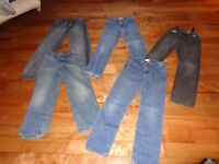 Boys Size 10 Jeans and Dress Shirts
