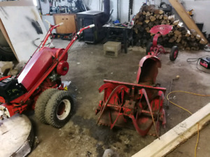 Gravely walk behind tractor