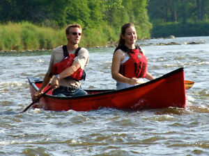 1 yr old 16 ft, Canoe with lower price London Ontario image 1
