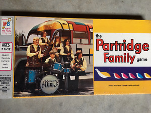 Vintage 1971 Partridge Family Game