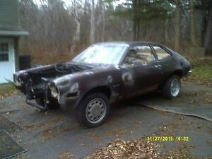 FORD PINTO DRAG CAR PROJECT