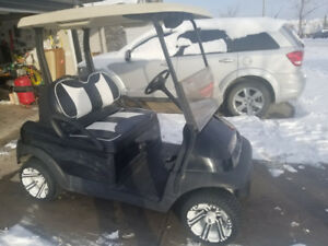 Tuxedo Club Car Golf Cart
