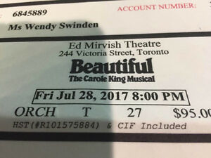 Tickets for You're Beautiful - Toronto