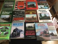 Selection of Railway & Locomotive books