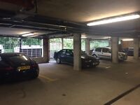 Secure parking space with excellent location!