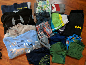 4T boys clothes and size 9 shoes $25