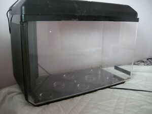 AQUARIUM WITH ACCESSORIES  .. Trade for a bicycle or CASH