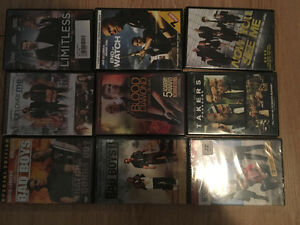 75 movies plus season 2 of the walking dead