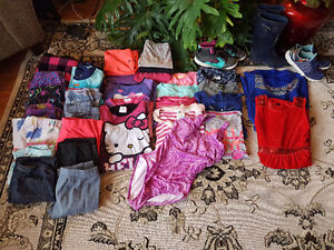 Girls size 10 to 12 clothe and shoes!!! Prince George British Columbia image 3