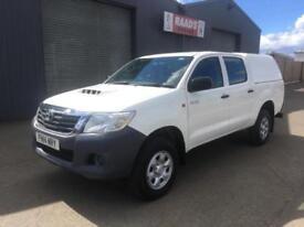 *SOLD* 2014 Toyota Hilux 2.5 D4-D Active Double Cab 4x4 Diesel Pickup *52k*