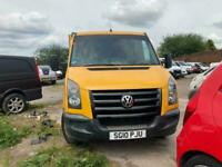 2010 Volkswagen Crafter 2.5 BlueTDI CR50 Crew Cab Chassis 4dr (LWB) Chassis Cab