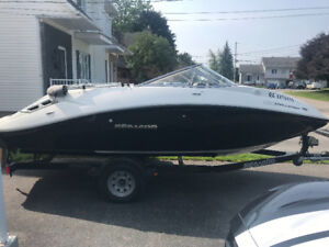 Bateau see-doo challenger SE 180 255 hp super charge 2012