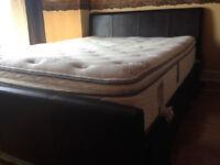 Simmons beautyrest hi loft pillow top supper quality mattress