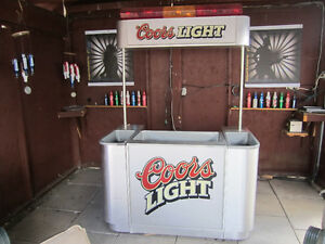 Coors Light Bar one of kind