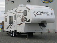2009 KEYSTONE COUGAR RV 5TH  WHEEL 27 FAB.....