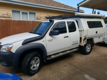 2011 Mazda Bt50 Freestyle cab 4x4 with trade canopy. Deer Park Brimbank Area Preview