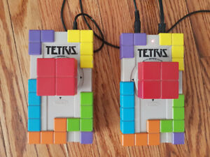 Vintage Radica Tetris Game - plugs into TV, 2 person game, works
