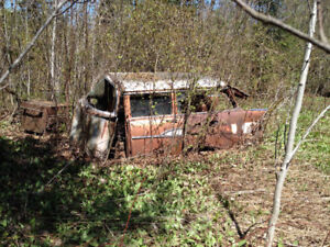 1957 Chev Belair wagon parting out