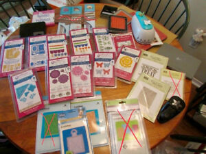 Brand new die-cutting supplies - Spellbinders, Sizzix, SU, etc.!