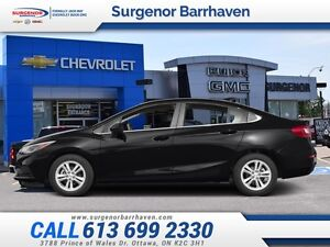 2016 Chevrolet Cruze LT  - Heated Seats -  Cruise Control - Low