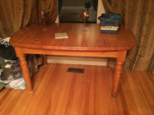 Large solid wood dining room tables