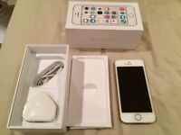 iPhone 5s Gold EE brilliant condition