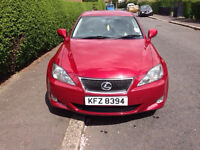 ***Price Reduced - FOR SALE Lexus IS220D 2006 W/Reverse Camera, SAT NAV HPI Clear, FULL YEAR MOT***