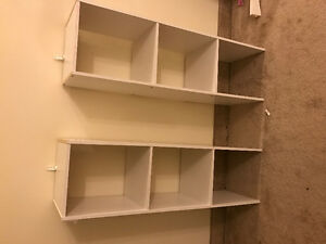 Shelving unit nice for clothing
