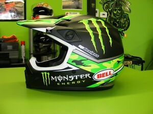 BELL - Pro Circut - MX-9 - Monster Energy all Sizes at RE-GEAR