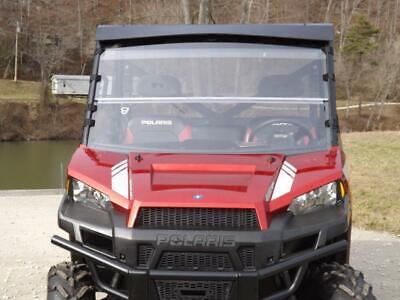 12-20 Polaris Ranger 900 XP,1000 Clear Folding Windshield..FULL 1/4