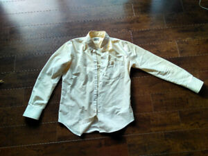 Naked and Famous White Denim Shirt