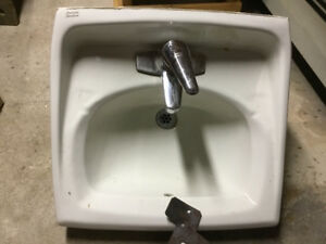 American standard sink with taps