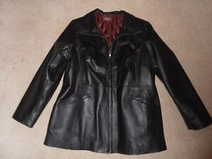 Ladie's Leather Coat for Sale