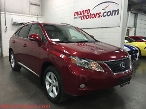 2012 Lexus RX 350 AWD Premium Sunroof Just 31309 kms