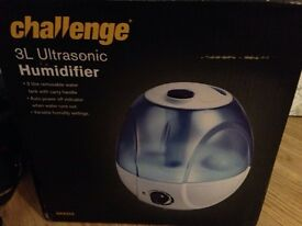 Humidifier, excellent condition, perfect for relaxation and dry homes