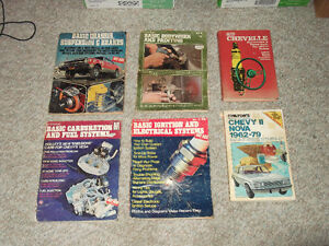 Old School Car Repair Books