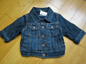 "Boys ""Gap"" Jean Jacket - 0-6 Mths"