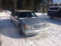2002 Cadillac DeVille Limousine Reduced Price!!