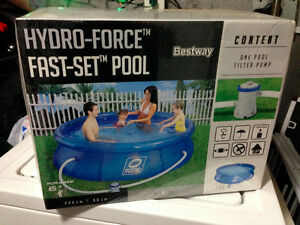 Hydo-Force Fast Set Pool 244cmX66cm Brand New Still in Box Peterborough Peterborough Area image 1