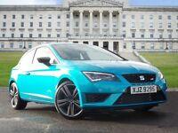 SEAT Leon 2.0 TSI Cupra 280 SportCoupe 3dr (start/stop) (blue) 2015