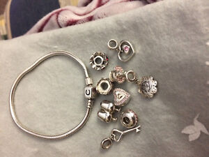 Beautiful bracelet with charms