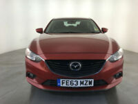 2013 63 MAZDA 6 SE-L NAV DIESEL 4 DOOR SALOON 1 OWNER FINANCE PX WELCOME