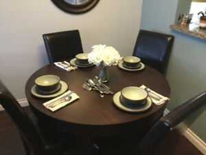 Dining table with free chairs!