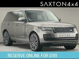 image for 2020 Land Rover Range Rover 3.0 P400 MHEV Vogue SE SUV 5dr Petrol Auto 4WD (s/s)