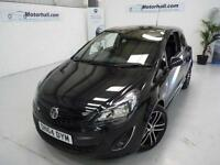 Vauxhall Corsa BLACK EDITION TURBO + FSH + 1 OWNER + 2 KEYS