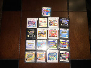 Used DS and 3DS games, no box, no manual