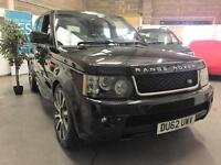 2012 62 Land Rover Range Rover Sport 3.0SD V6 ( 255bhp ) HSE Red Edition