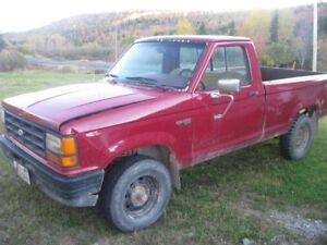 1989 Ford Ranger 4x4 Pickup Truck