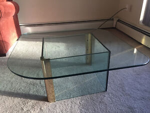 $50 --> $40 Excellent condition glass coffee table