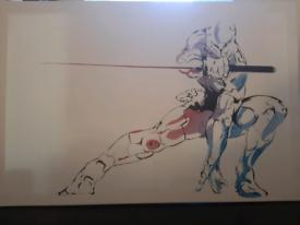 ONO - Cyber Ninja Art Canvas